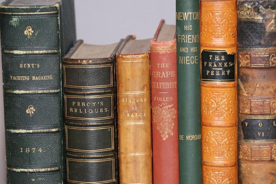 [Bindings, Literature, History, 11 volumes] - 2