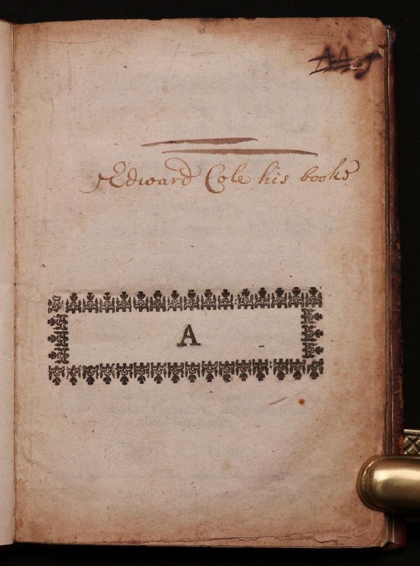 Cervantes.  Adventures in Love, 1652 - 2