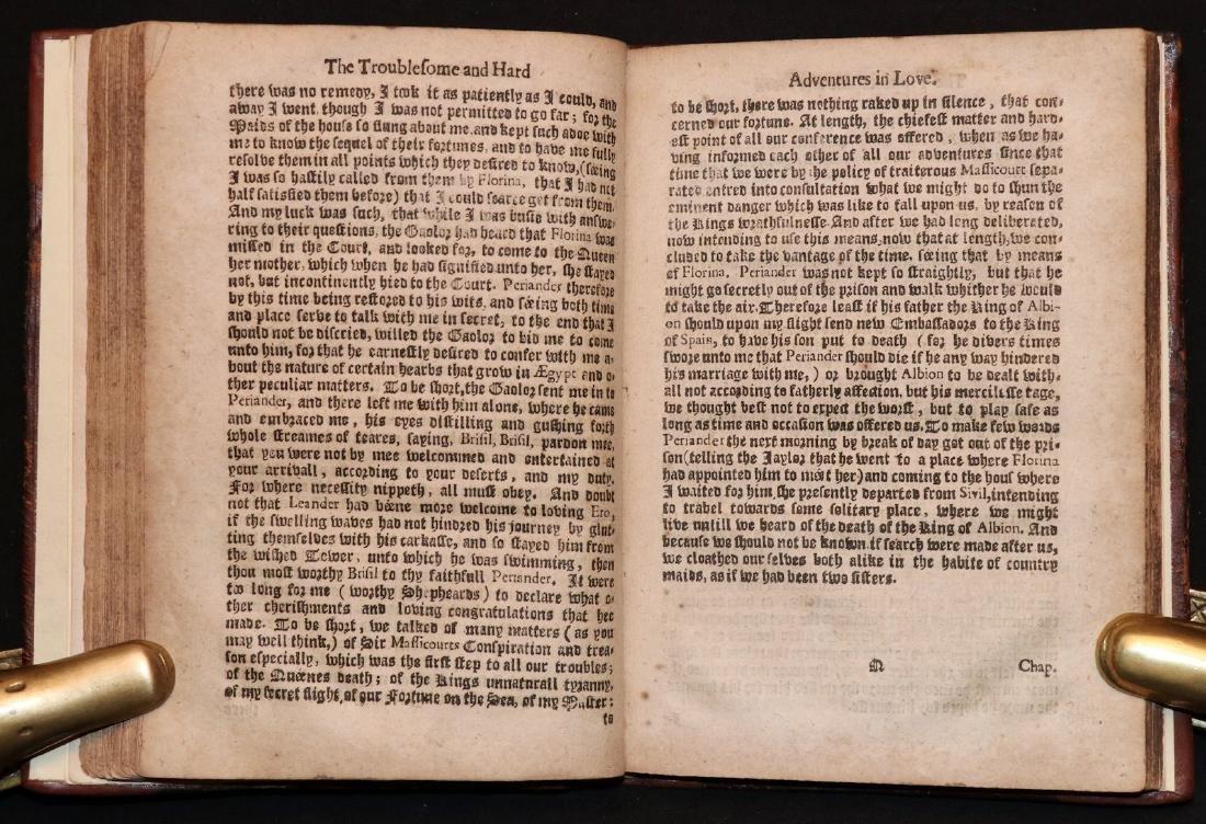 Cervantes.  Adventures in Love, 1652 - 4
