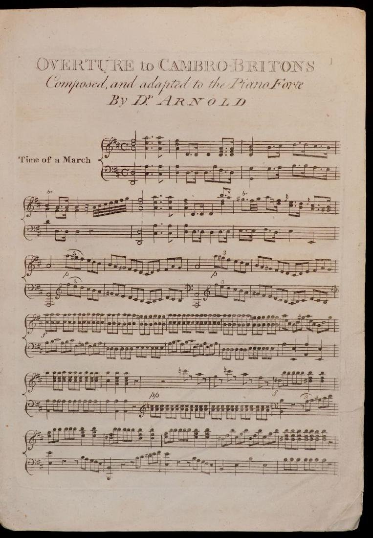 [Music, 18th c. Collection of Sheet Music]