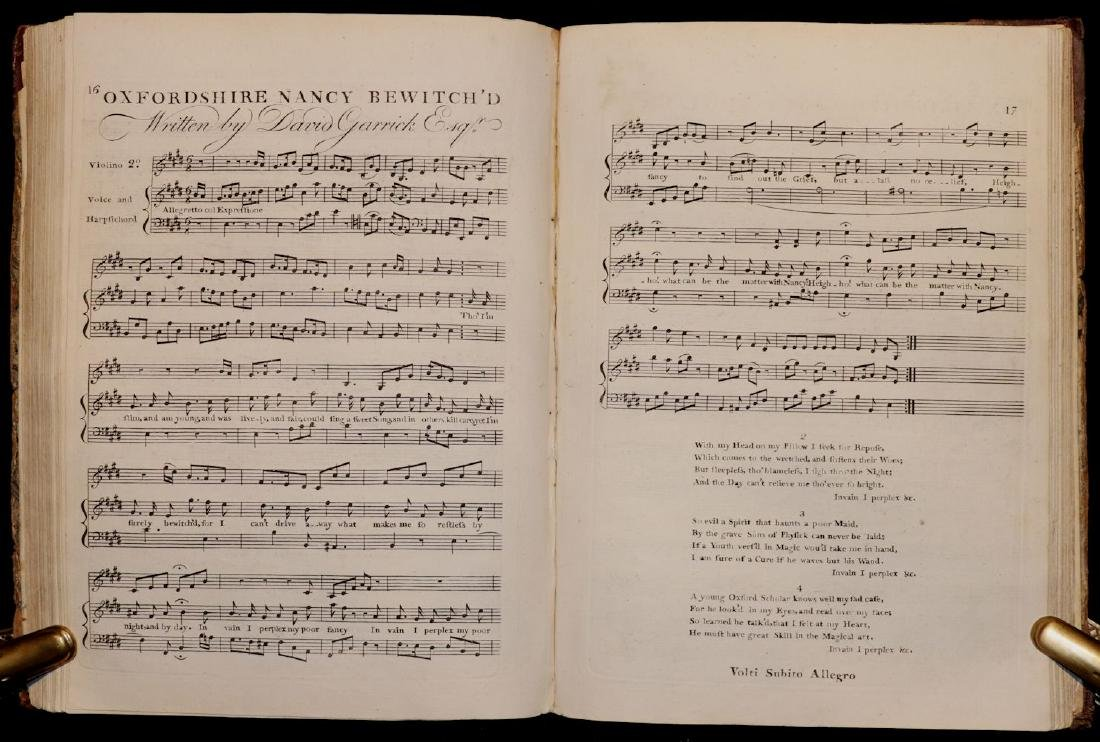 [Music, 18th c. Collection of Sheet Music] - 4