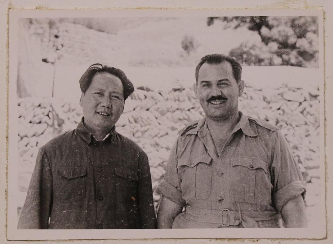 [Harrison Forman, Mao Zedong, Photo + Books]