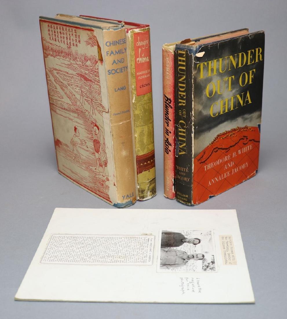 [Harrison Forman, Mao Zedong, Photo + Books] - 2