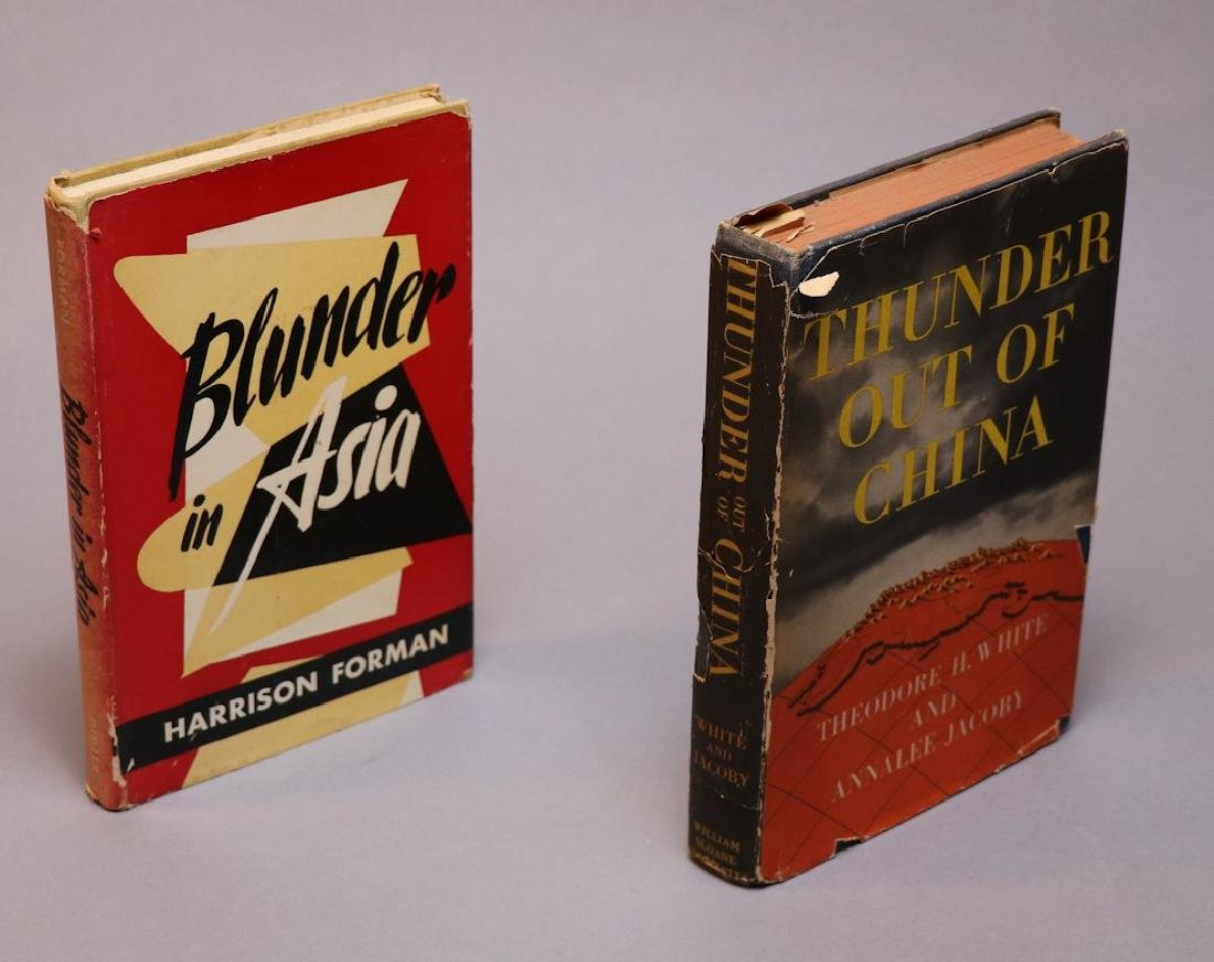 [Harrison Forman, Mao Zedong, Photo + Books] - 5