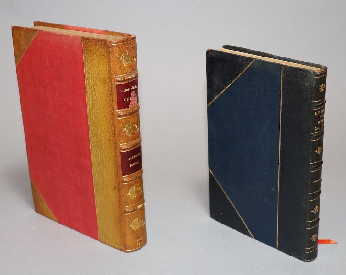 [Harrison Forman]  Collection, Books & Letter - 2