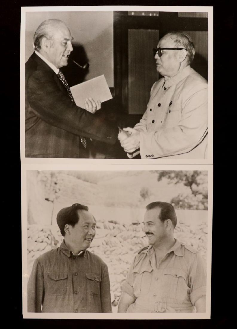 [Harrison Forman, China, Mao Zedong, Group] - 2