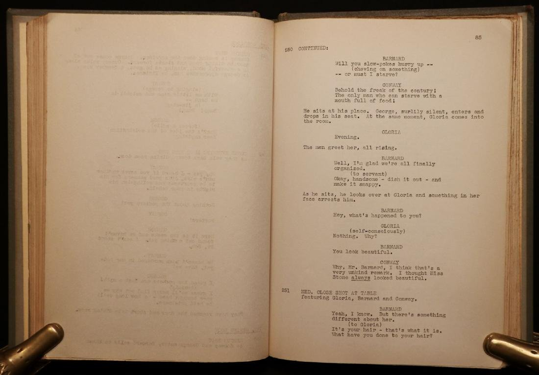 "[Harrison Forman's Copy, ""Lost Horizon"" Script] - 4"