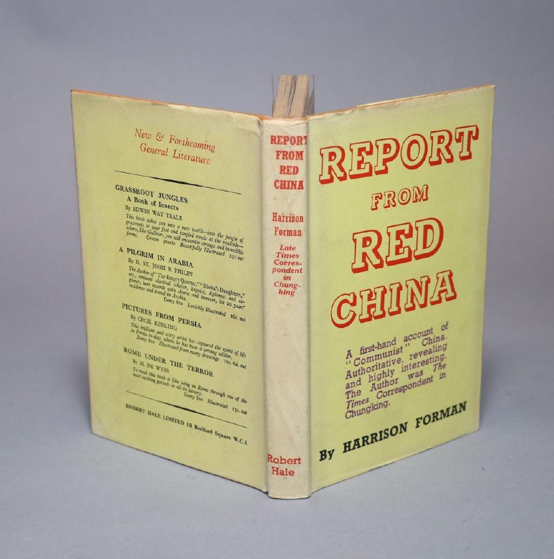 [Harrison Forman]  MAO, CHINA,  3 Books - 2