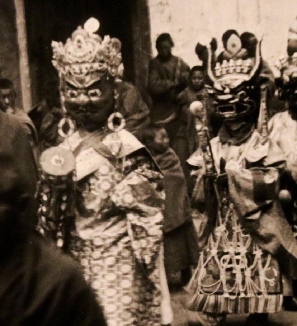 [Harrison Forman] TIBET, Devil Dancers, Photos