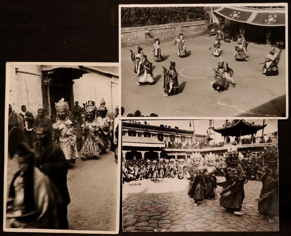 [Harrison Forman] TIBET, Devil Dancers, Photos - 2