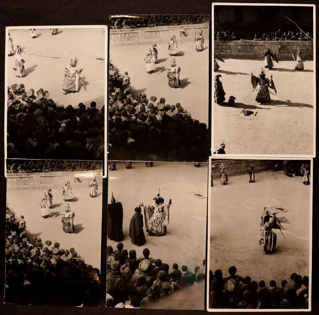 [Harrison Forman] TIBET, Devil Dancers, Photos - 7