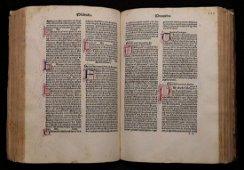 [Incunable Bible]  Biblia Latina, Jenson, 1479