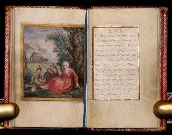 Illustrated Manuscript on Vellum, 1710