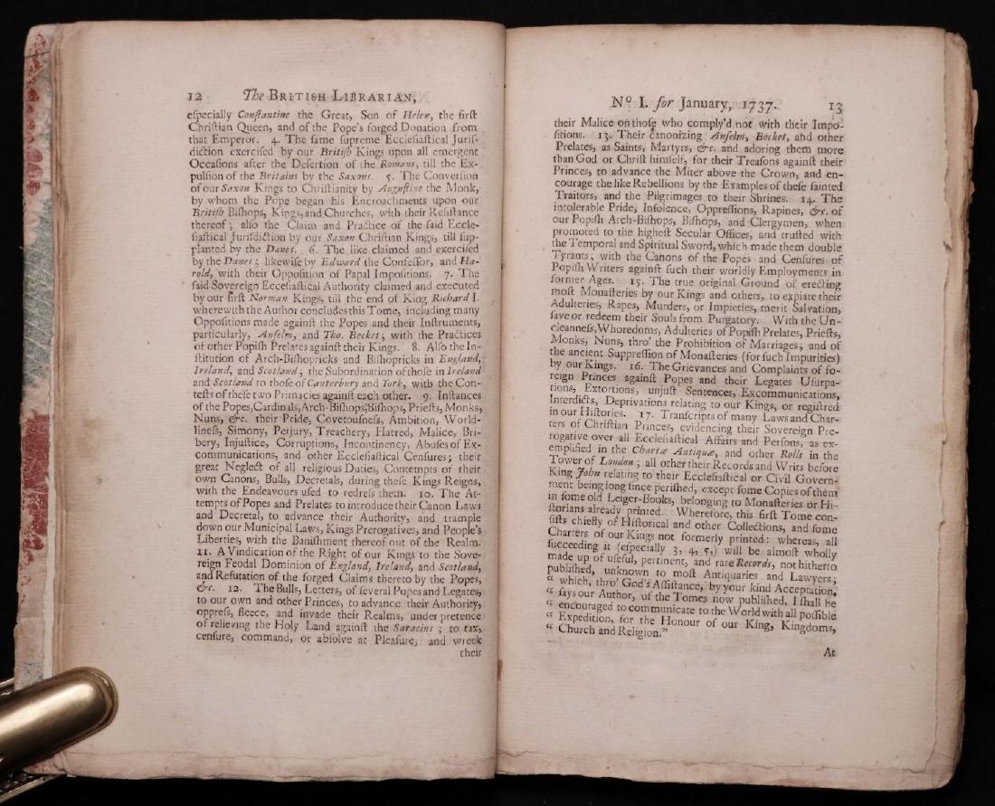 [Books on Books, Bibliography, 1738] - 5