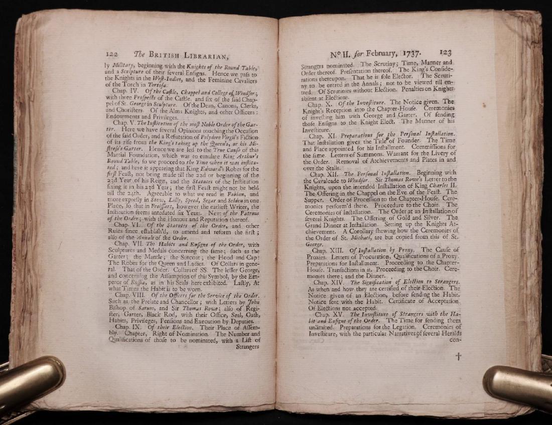 [Books on Books, Bibliography, 1738] - 6