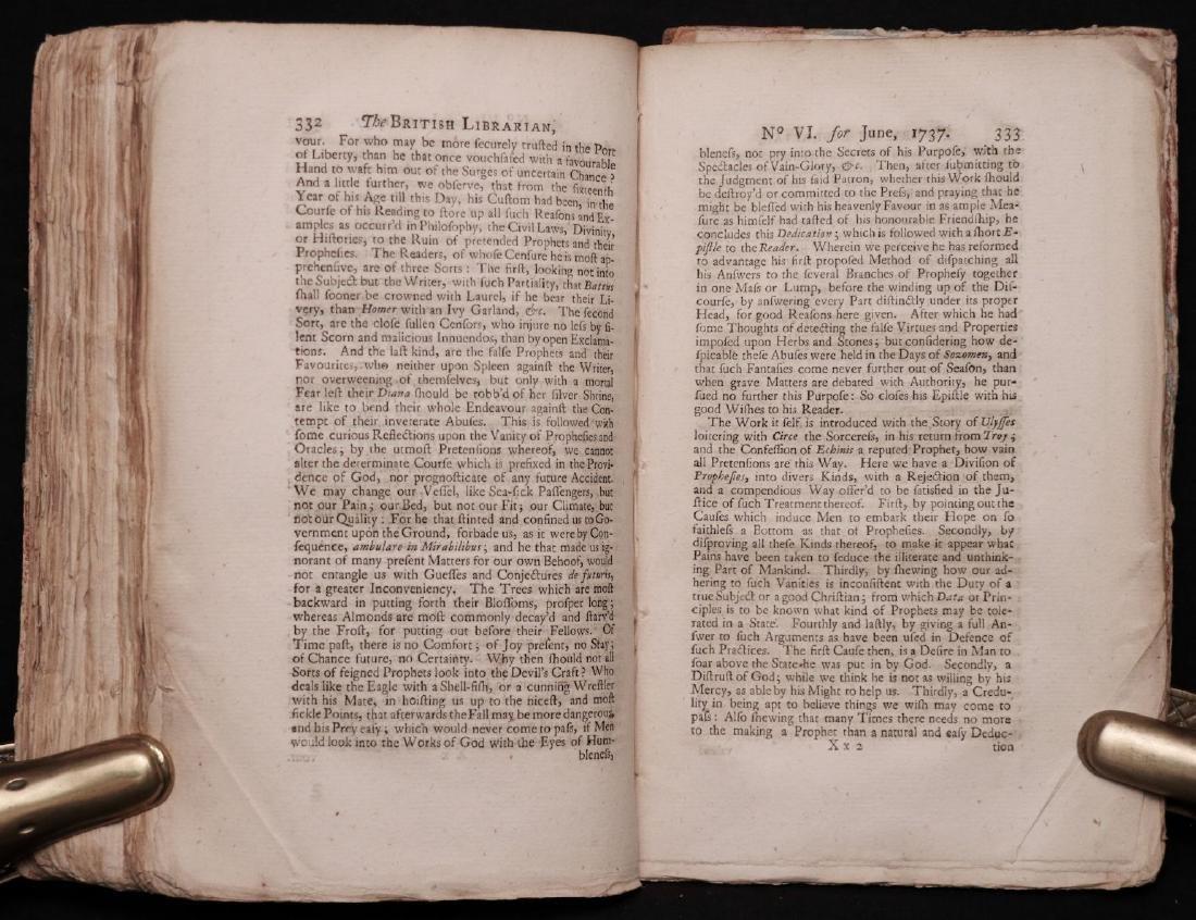 [Books on Books, Bibliography, 1738] - 8