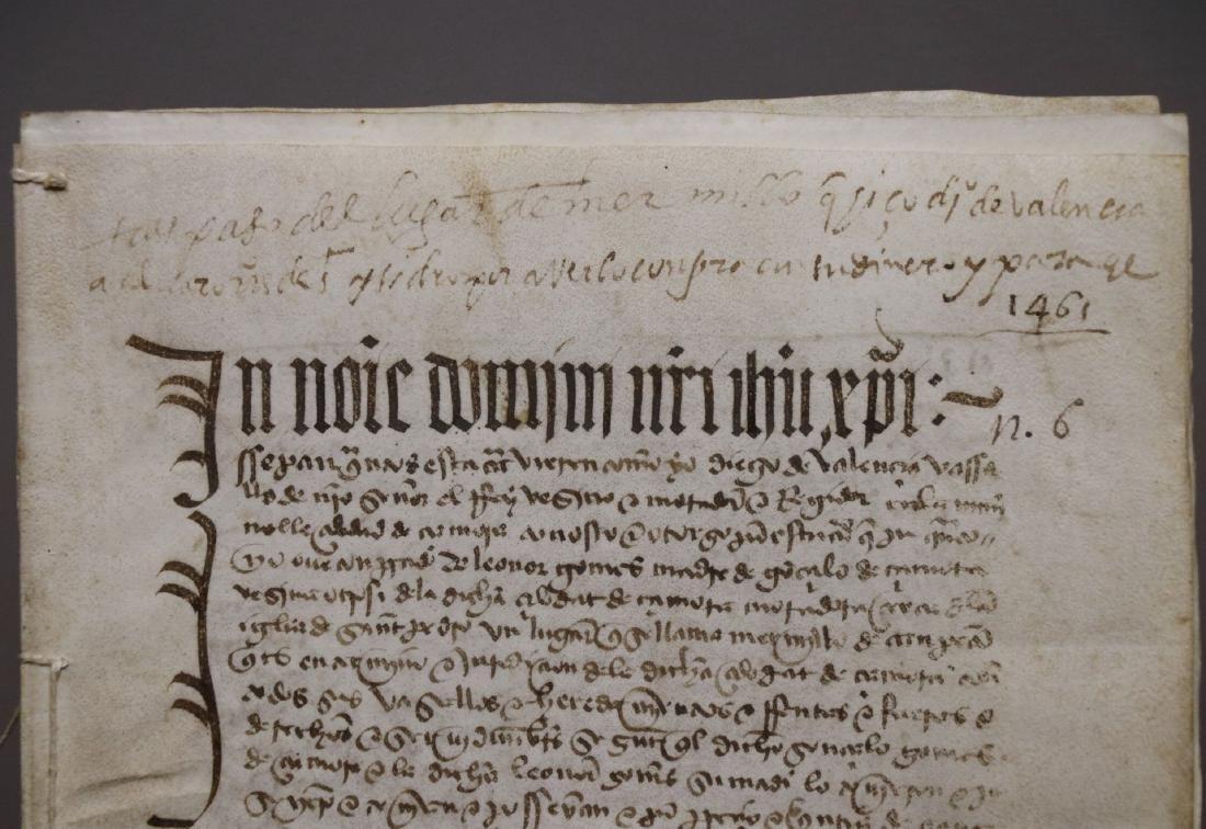 15th c. Manuscript on Vellum - 2