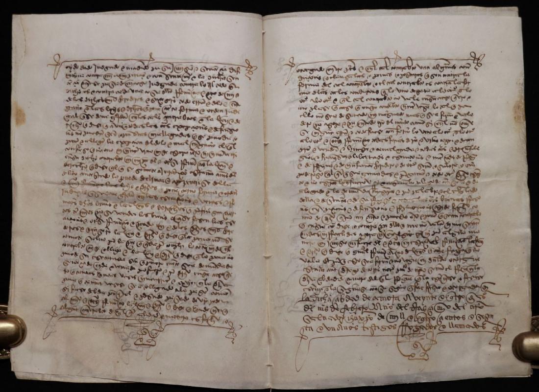 15th c. Manuscript on Vellum - 5