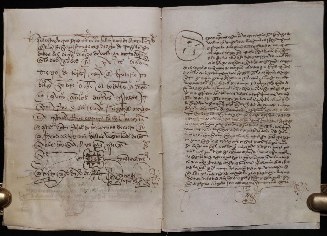 15th c. Manuscript on Vellum - 6