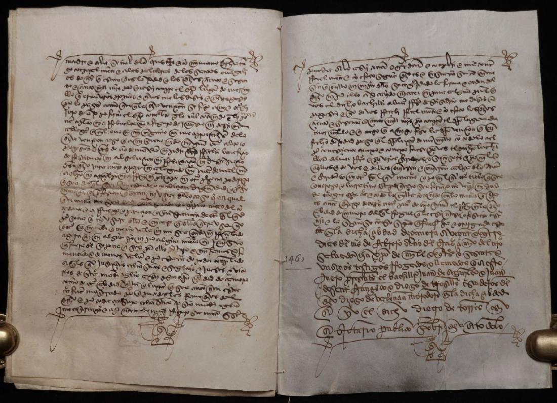 15th c. Manuscript on Vellum - 7