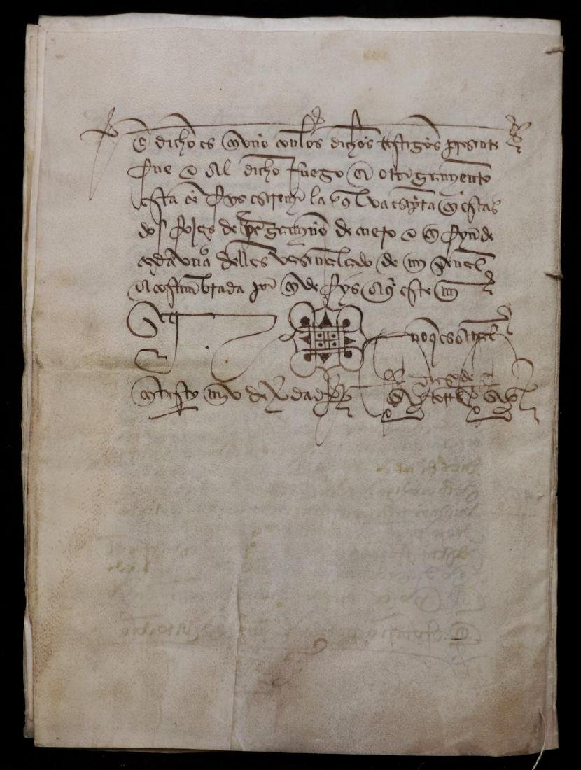 15th c. Manuscript on Vellum - 8