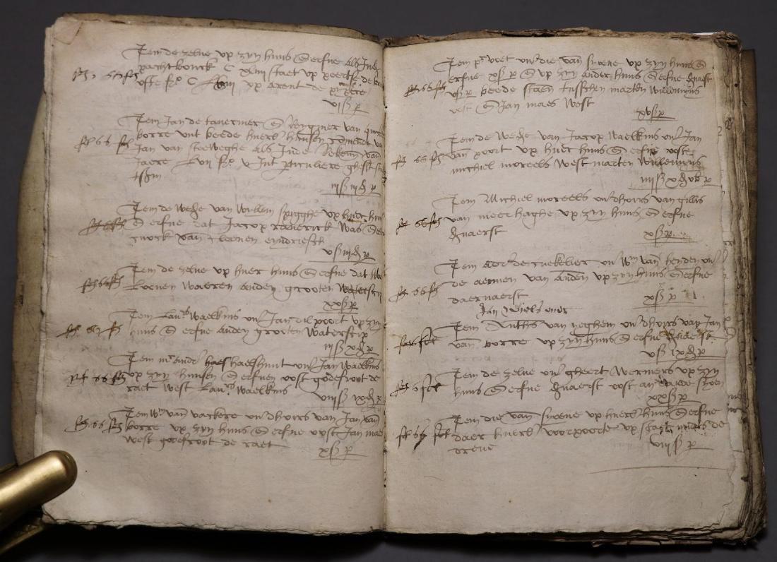 16th c. Dutch Manuscript Account Book - 3
