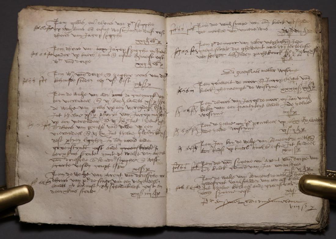 16th c. Dutch Manuscript Account Book - 4