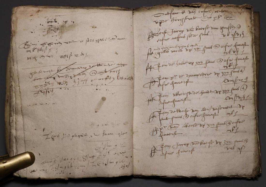 16th c. Dutch Manuscript Account Book - 5