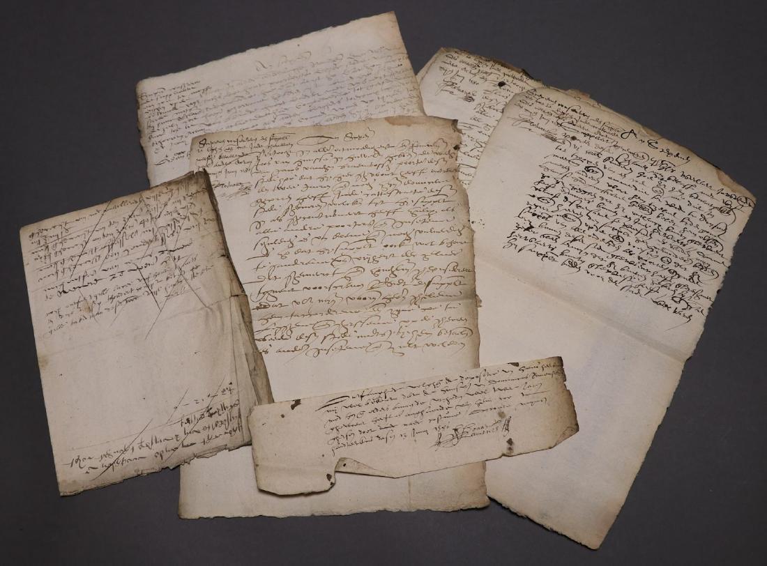 16th c. Dutch Manuscript Account Book - 7