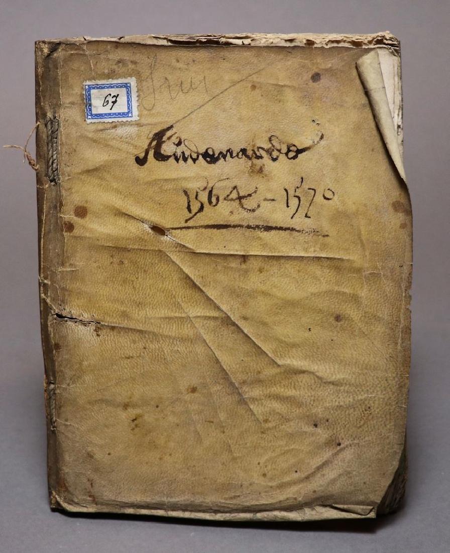 16th c. Dutch Manuscript Account Book - 8