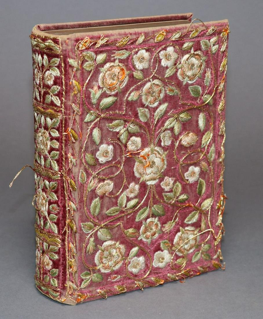 [Embroidered Binding, Bible]
