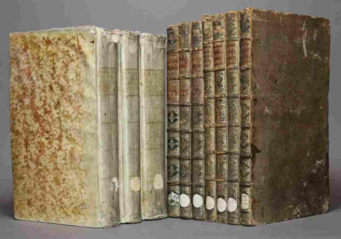 [Period Bindings, Folios, 10 volumes]
