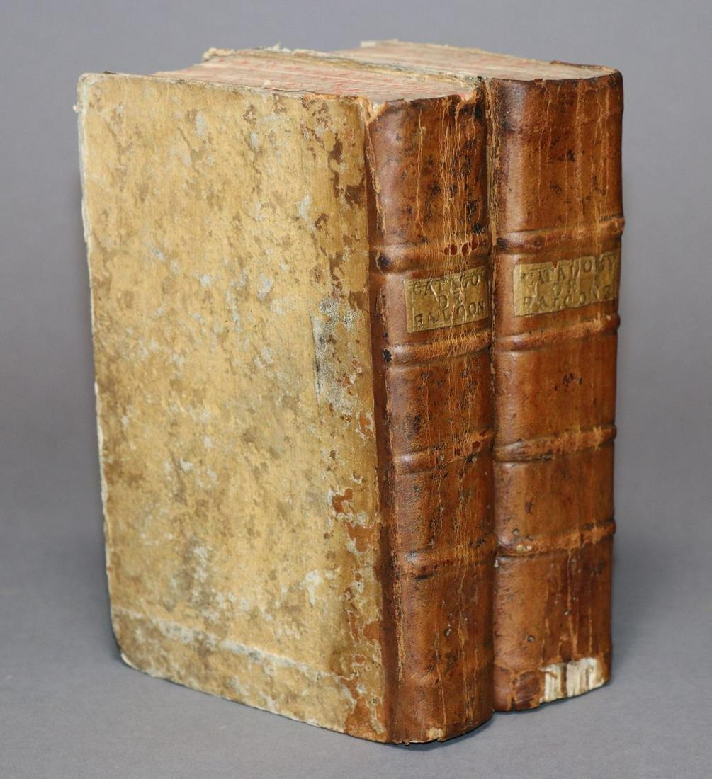 [Bibliophilia]  Catalogue of Falconet, 1763