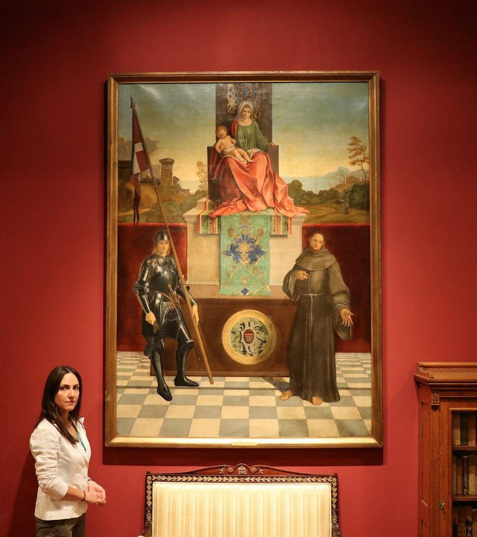 Large Old Master Painting, after Giorgione