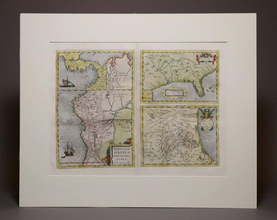 [Map, Early Florida]  La Florida