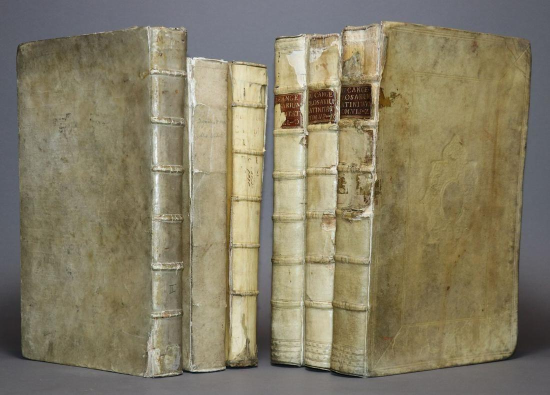 [Period Bindings, Folios, 6 volumes]