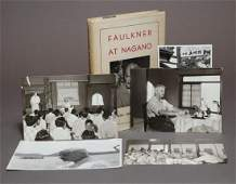 William Faulkner at Nagano, with Photos