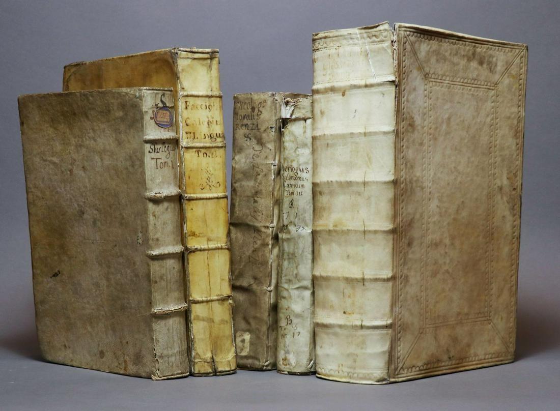 [Period Bindings, Folios, 5 volumes]