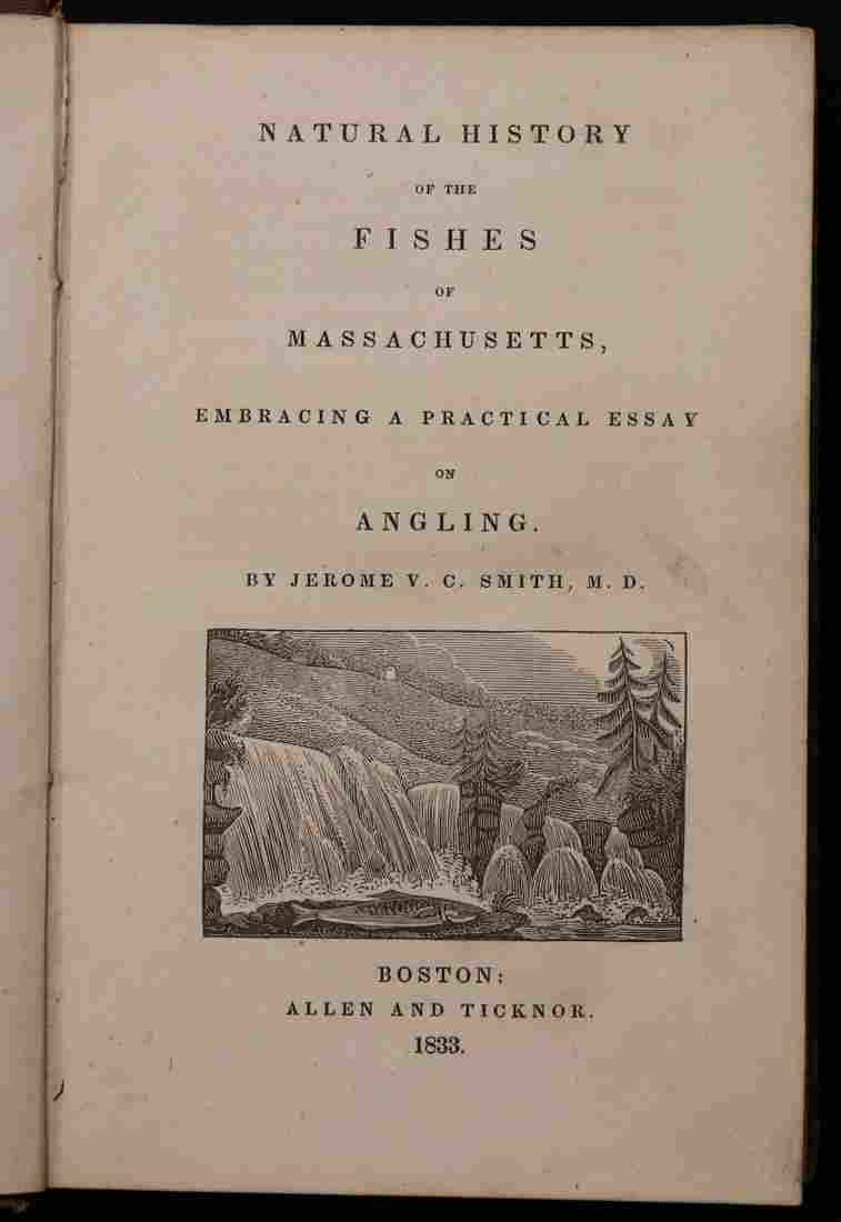[First American Angling Book, 1833]