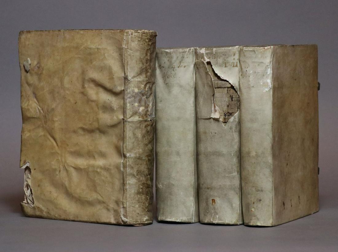 [Period Bindings, Vellum, Quartos, 4 vols.]