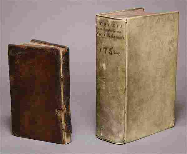 Pair of Religious Works, one Early American