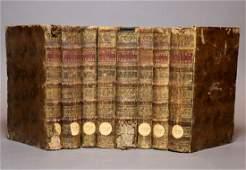 Period Bindings 18th c 12v Set in 8 vols