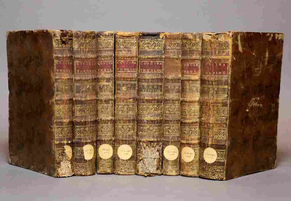 [Period Bindings, 18th c., 12v Set, in 8 vols]