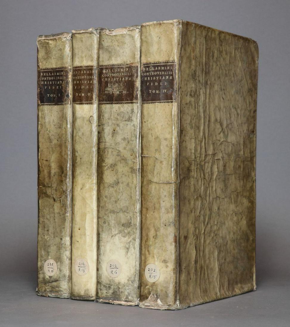 [Period Bindings, Folios, 18th c., 4 vol. Set]