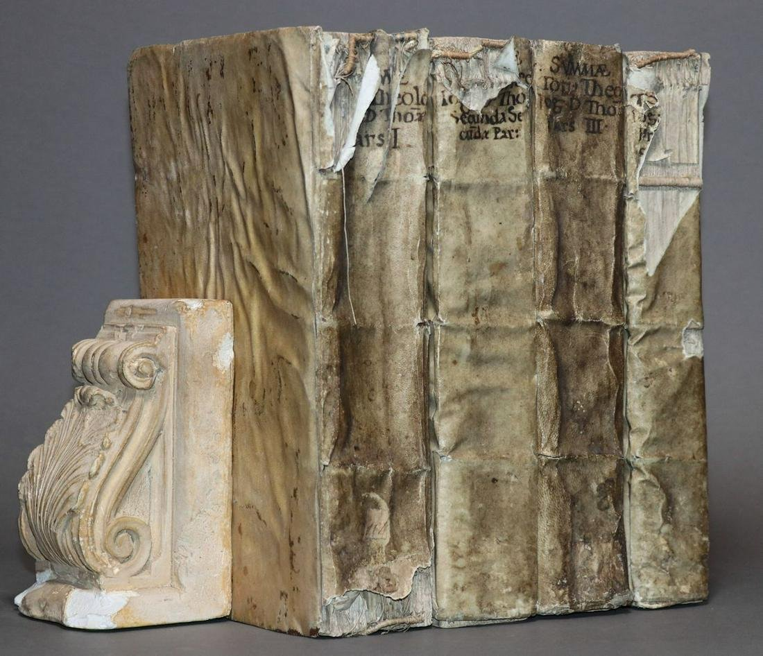 [Period Bindings, 16th c. Aquinas, Folios]
