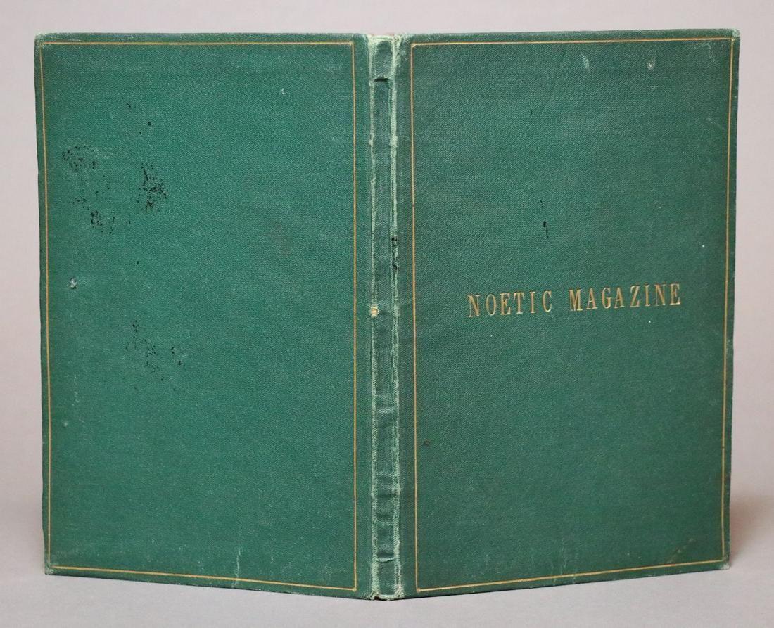 [19th c. Spiritualism]  Noetic Magazine