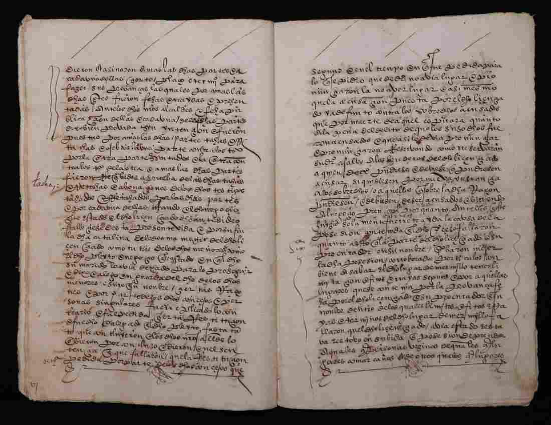 15th  c. Spanish Manuscript