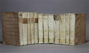 Period Bindings Quartos Vellum12 volumes