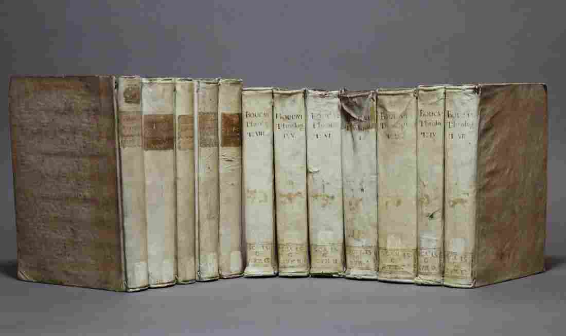 [Period Bindings, Quartos, Vellum,12 volumes]