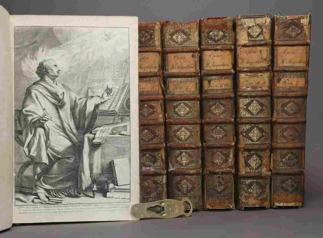 [Period Bindings, Folios, Augustin's Works]